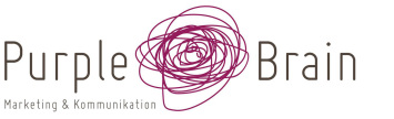 Logo Purple Brain Marketing & Kommunikatiom